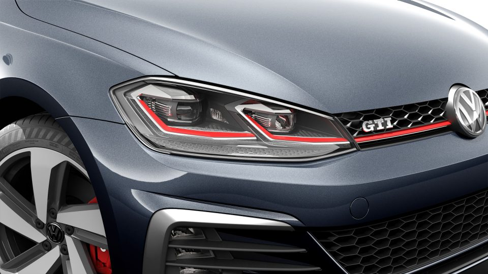 2018 Golf GTI adaptive front light system